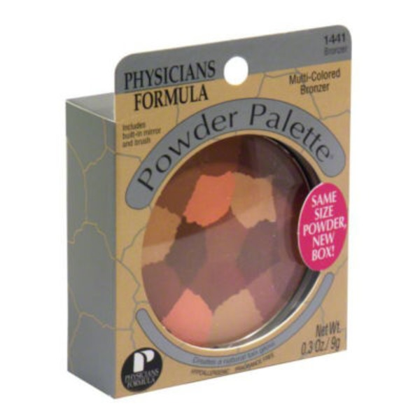 Powder Palette® 1441 Bronzer Multi-Colored--1441C Bronzeur Multicolore Bronzer--Bronzeur