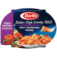 Barilla Ready Meals Itallian Entrees Spicy Marinara Penne Pasta