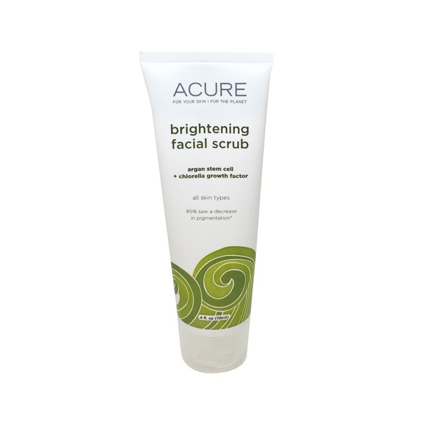 Acure Brightening Facial Scrub Sea Kelp + CGF