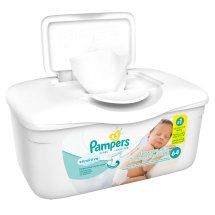 Pampers Gentle Clean Sensitive Baby Wipes (64 count)