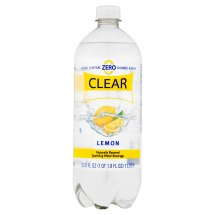 Clear American Lemon Flavored Sparkling Water, 1 Liter