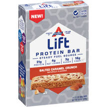 Atkins Lift Salted Caramel Crunch Protein Bars
