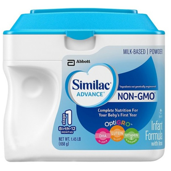Similac Advance OptiGRO Non-GMO with Iron Infant Formula