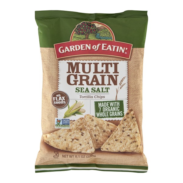 Garden of Eatin' Tortilla Chips Multi Grain Sea Salt