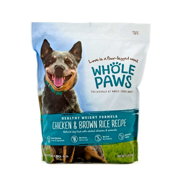 Whole Paws Chicken And Rice Healthy Weight Dog Food