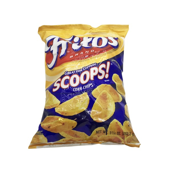 Frito Lays Scoops