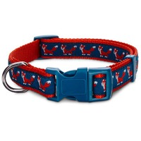 Petco Red Fox Nylon Adjustable Dog Collar For Necks 16