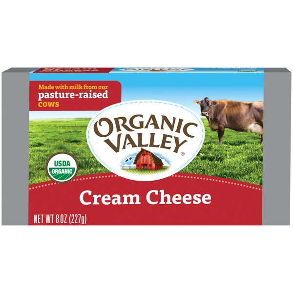 Organic Valley Cream Cheese Cream Cheese Spread