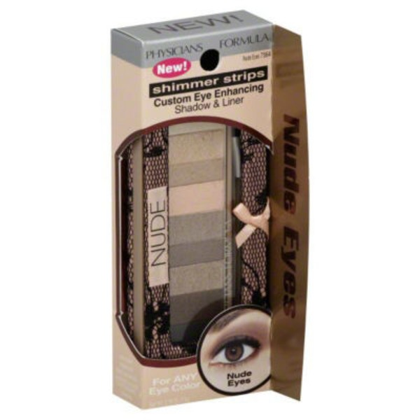Shimmer Strips 7564 Nude Eyes Custom Eye Enhancing--Naturel Pour un Eclat sur Mesure Shadow & Liner--Fard a Paupieres et Eyeliner