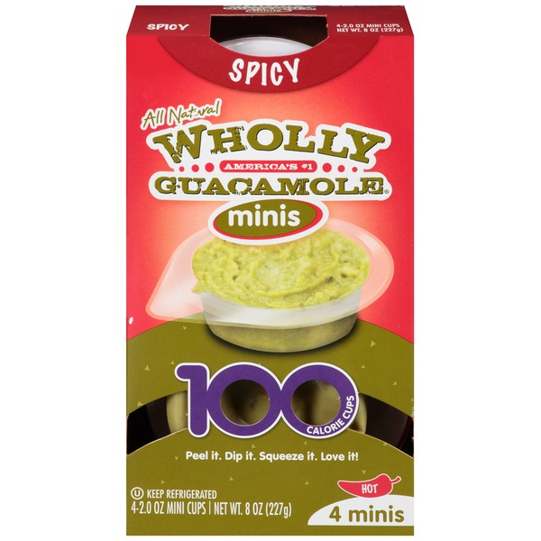 Wholly Guacamole Spicy Minis Guacamole