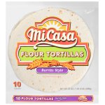 Mi Casa® Burrito Style Flour Tortillas 10 ct Bag