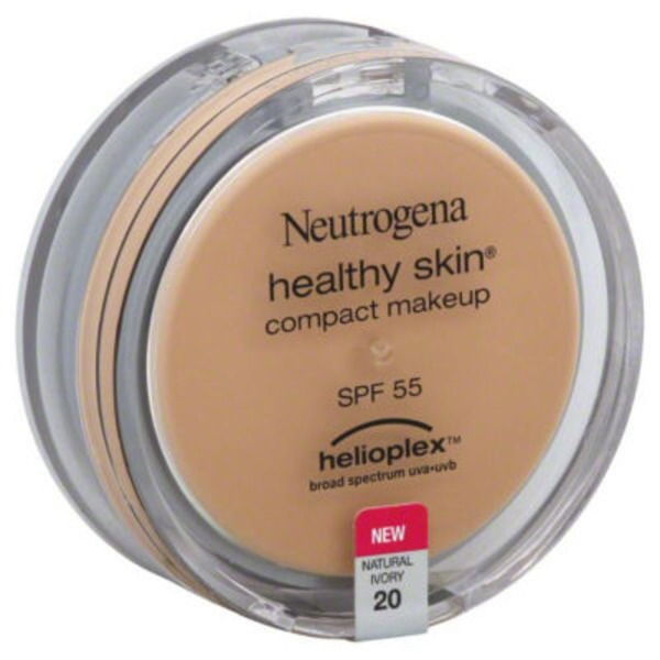 Neutrogena® Compact Makeup W/Helioplex SPF 55 Natural Ivory 20 Healthy Skin®