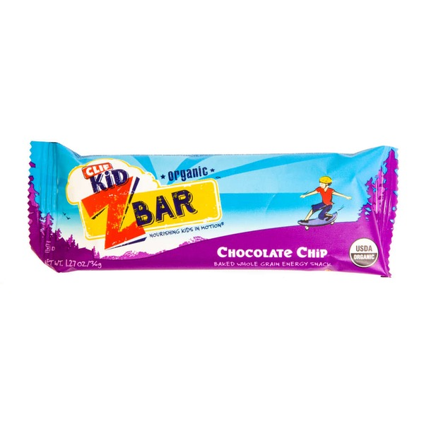 Clif Kid® ZBar Organic Chocolate Chip Energy Snack