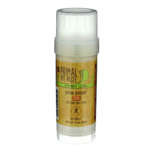 Primal Pit Paste Coconut Lime Regular Deodorant Stick