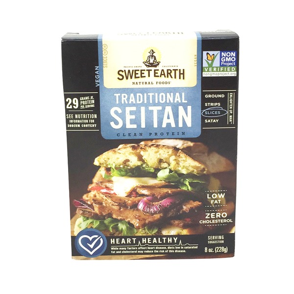 Sweet Earth Seitan, Traditional, Slices, Box