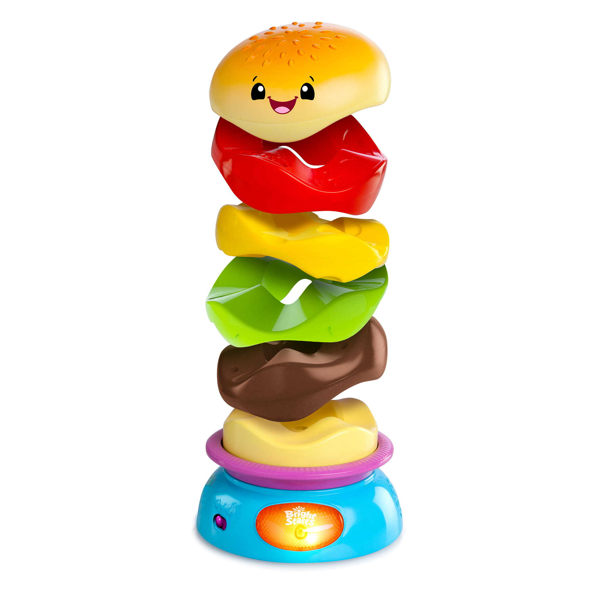 Bright Starts Stack ???n Spin Burger