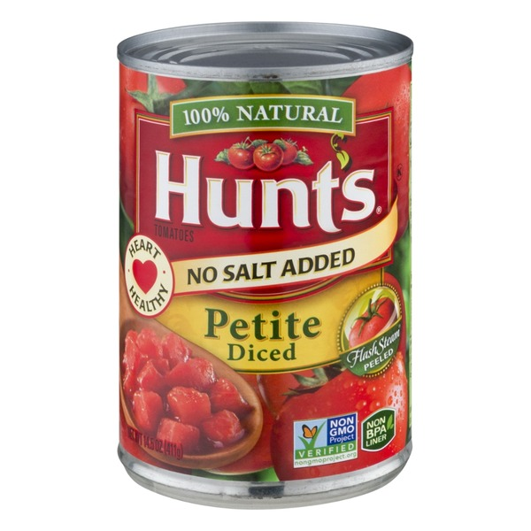 Hunt's Tomatoes Petite Diced No Salt Added