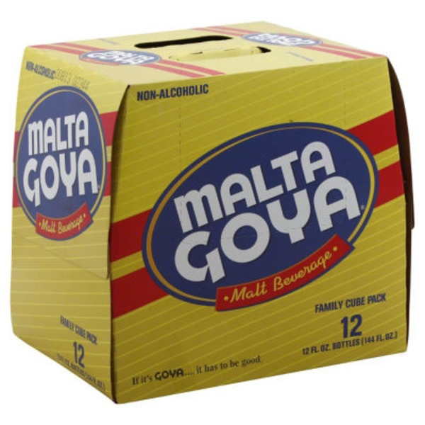 Malta Goya Malt Beverage - 12 CT