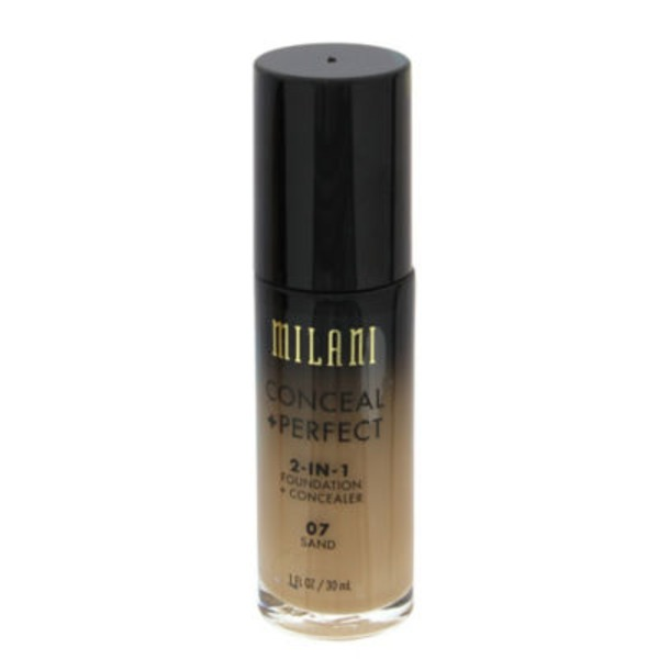 Milani Conceal + Perfect 2-In-1 Foundation + Concealer 07 Sand