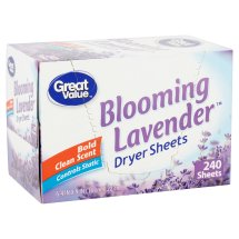 Great Value Ultimate Fresh Dryer Sheets, Blooming Lavender, 240 Count