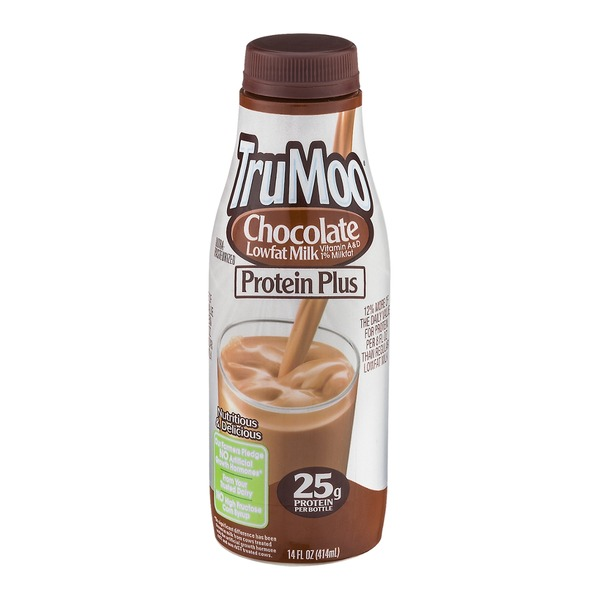 TruMoo Protein Plus Lowfat Milk Chocolate