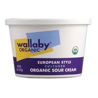 Wallaby Organic European Organic Sour Cream