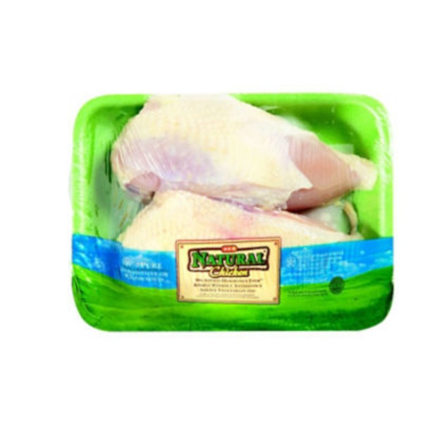 H-E-B Natural Split Chicken Breast