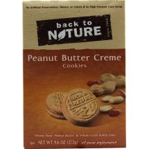 Back to Nature Peanut Butter Creme Cookies, 9.6 OZ