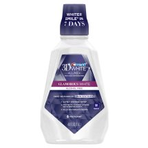 Crest Mouthwash - 3D White Luxe Glamorous White Multi-Care Whitening Fresh Mint Flavor 1.4 L