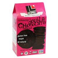 Liz Lovely Crunchy Double Chocolate Cookies