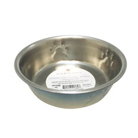 Harmony Blue Ombre Stainless Steel 1 Cup Cat Bowl