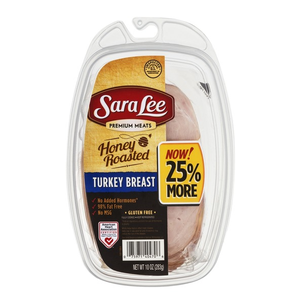 Sara Lee Premium Meats Honey Roasted Turkey Breast