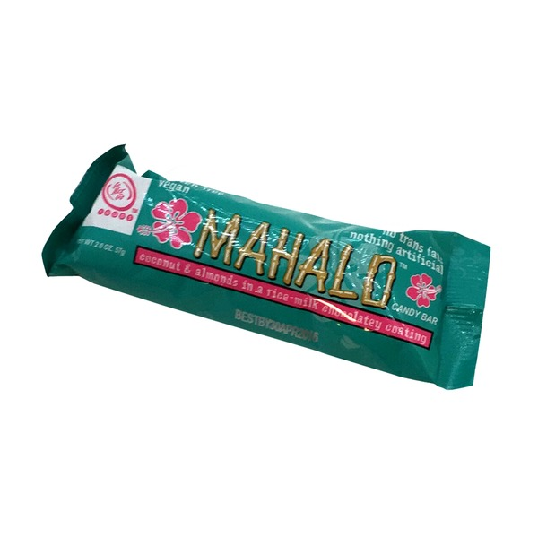 Mahalo Coconut & Almond Candy Bar