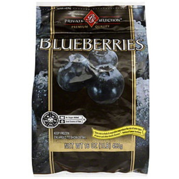 Kroger Private Selection Blueberries
