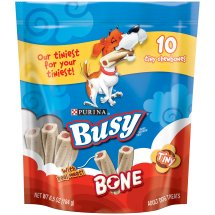 Purina Busy Bone Tiny Dog Treats 10 ct Pouch