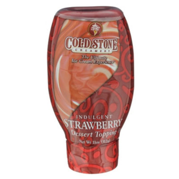Cold Stone Creamery Indulgent Strawberry Dessert Topping