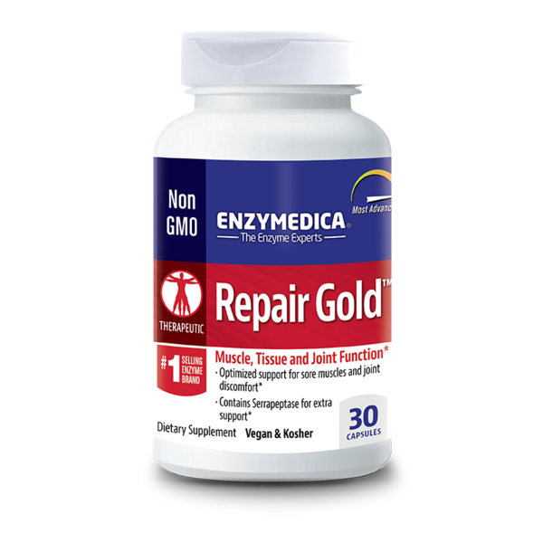 Enzymedica Repair Gold Enter Coated Capsules