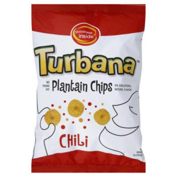 Goodness Inside Turbana Chili Plantain Chips