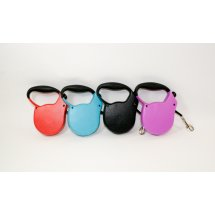 PetWear Retractable Dog Leash, Assorted Colors, Small, 13'