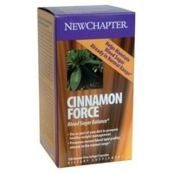 New Chapter Cinnamon Force (Veggie Caps)