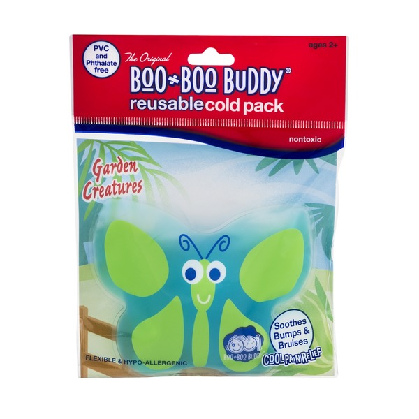 Boo-Boo Buddy Reusable Cold Pack Garden Creatures
