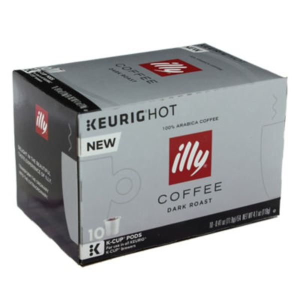 Illy Dark Roast K-Cups