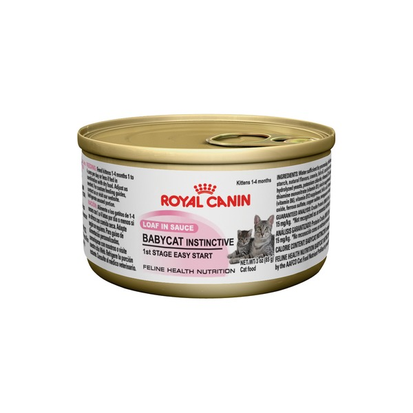 Royal Canin Feline Health Nutrition Baby Cat Instinctive Loaf in Sauce Cat Food