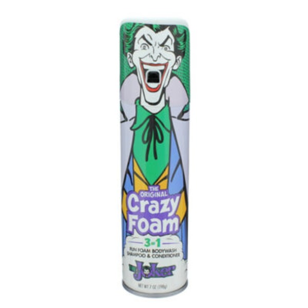 Crazy Foam Joker 3 In 1 Body Wash/Shampoo/Conditioner