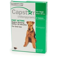 Capstar Flea Tablets For Dogs