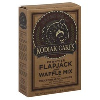 Kodiak Cakes Frontier Whole Wheat Oat & Honey Flapjack and Waffle Mix