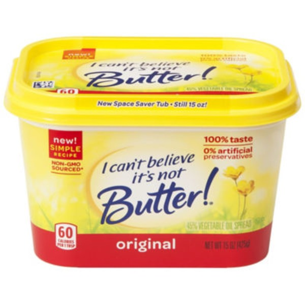I Can't Believe It's Not Butter Original Buttery Spread