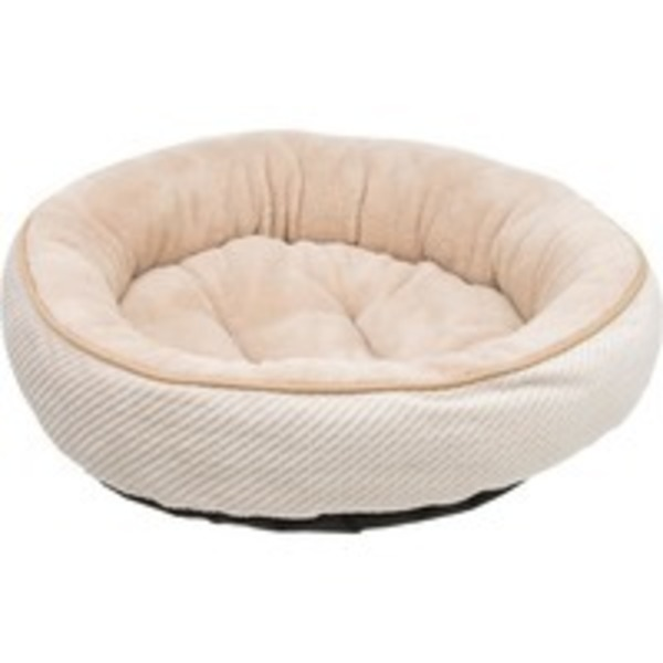 Petco Textured Round Cat Bed In Sand 20