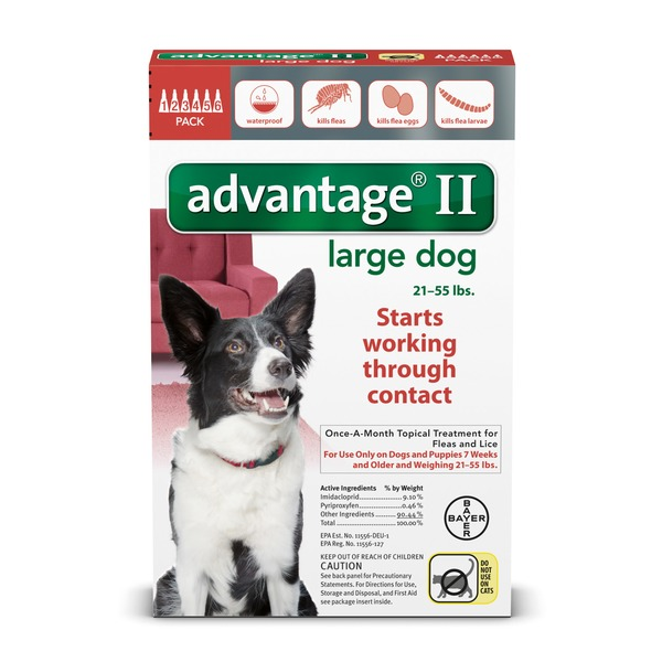 Advantage Ii Once A Month Topical Large Dog Flea Treatment