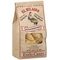 El Milagro Tortilla Chips With Sea Salt